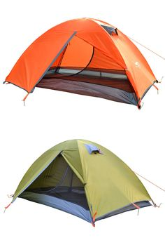 Find More Tents Information about Double double tent c&ing The wild c&ing than against the heavy  sc 1 st  Pinterest & Large 3-4 Person 200*200*130 Outdoor Hiking Camping Tent 2S Quick ...