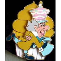 Pin 92885 DSF - Alice in Wonderland Cupcakes - Mad Hatter