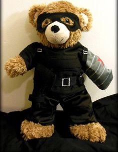 Aw this is so CUTE!!!! It's a Bucky Bear!!! It's so cute!! I love it!!!