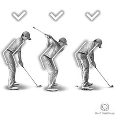 Focus on keeping your upper body forward tilt - or spine angle - constant throughout the swing, or at least until after impact. This is in contrast to starting to 'stand up' shortly before impact where the upper body starts to rise and reduce its forward tilt.