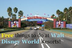 FREE things to do at Walt Disney World Deluxe Resorts! Kasey Knows Orlando blog!