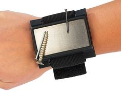 AGT Magnetischer Kleinteile Halter mit elastischem Armband