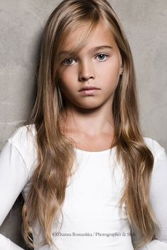 Anastasia Bezrukova - young child model from Russia