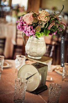 So cool! - centerpiece  |  studio eleven photography | CHECK OUT MORE GREAT VINTAGE WEDDING IDEAS AT WEDDINGPINS.NET | #weddings #vintagewedding #weddingvintage #oldweddingphotos #events #forweddings #iloveweddings #romance #vintage #planners #old #ceremonyphotos #weddingphotos #weddingpictures