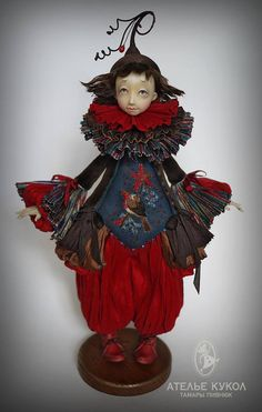 no link anymore, great art doll though Doll Home, Unusual Art, Clay Dolls, Doll Maker, Polymer Clay Art, Fairy Dolls, Figurative Art, Puppets, Sculptures