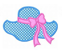 Instant Download Beach Hat Applique Machine by JoyousEmbroidery, $1.99