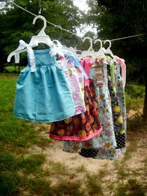 Morning by Morning Productions: Tie Top Dresses