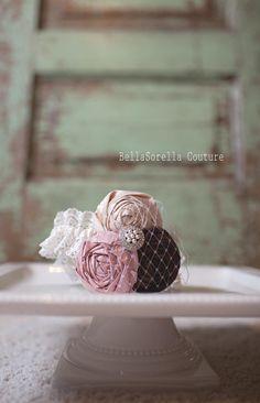 Wedding Garter..Blush Wedding by BellaSorellaCouture on Etsy, $45.00