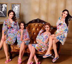 I03308 womens bathrobes personalized bridesmaid robes by MilkRobe Bridesmaid  Robes Cheap a40e625d7