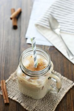 The extra kick of sweetness in this  iced coffee will give you  the jumpstart you need to face the Monday blues. Get the recipe Cook Nourish Bliss.