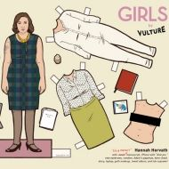 HBO's Girls paper dolls by Vulture.