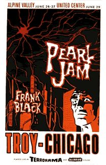 GigPosters.com - Pearl Jam - Frank Black And The Catholics