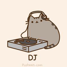 Play those tunes Pusheen