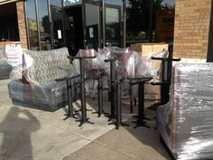 Booth's, tables & Chairs delivery
