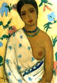 Nicolae Tonitza (Romanian: 1886-1940) | Portrait of a Biracial Woman