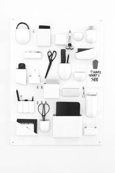 Well known desk organizer by Vitra. I hope to design objects that are functional and timeless. Office Workspace, Office Decor, Home Office, Coin Couture, Interior Desing, Interior Inspiration, Desk Organization, Getting Organized, Room Decor