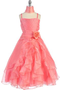 Girls Dresses, Flower Girl Dresses, Prom Dresses, Formal Dresses, Masquerade Dresses, Under The Skirt, Organza Flowers, Cute Baby Clothes, Bodice