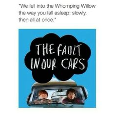 The Fault in our Cars. HP