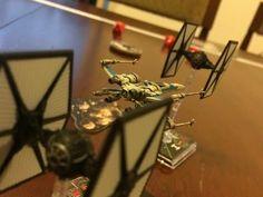 Limón Lúdico Perú: T10 Tutorial: X-Wing El juego de Miniaturas - El d...