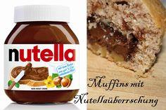 muffins, cupcakes, deko nuella nuss nougat creme überraschung surprise