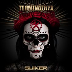 """Single image for the Terminatryx song """"Suiker"""" (Afrikaans for Sugar). Image by Dr-Benway. Dead Images, Industrial Metal, Album Songs, Skull Design, The Godfather, Afrikaans, Single Image, Cover Art"""