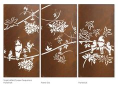 Metal wall art & Outdoor garden sculptures, large metal wall decor and metal screens for Melbourne homes, gardens & commercial spaces by award-winning designer Helen Neyland. Outdoor Metal Wall Art, Large Metal Wall Art, Outdoor Tiles, Metal Wall Decor, Wall Art Decor, Steel Gate Design, Door Gate Design, Metal Garden Gates, Laser Cut Screens