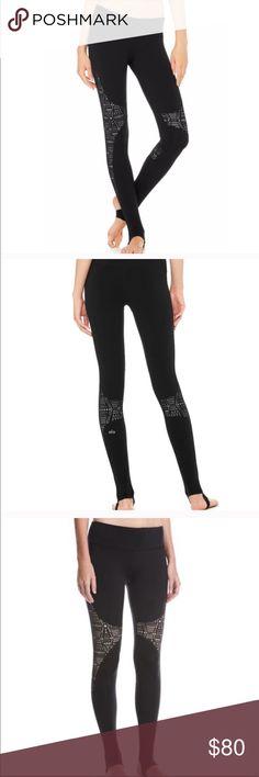 ea605f3f1a82b Alo Yoga High Waist West Coast Stirrup Legging Alo Yoga West Coast stirrup  leggings. Tan