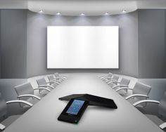 The best way to ensure that you're experiencing the best conference call possible is to upgrade your system to a Polycom Conference Phone.