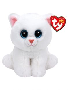 Beanie Babies Pearl the Cat Beanie Baby Plush Toy Ty Beanie Boos, Cat Beanie Baby, Girl Beanie, Beanie Babies, Ty Peluche, Ty Toys, Baby Stuffed Animals, White Beanies, Baby Pearls