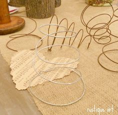 make your own bedprings - 16 gauge wire