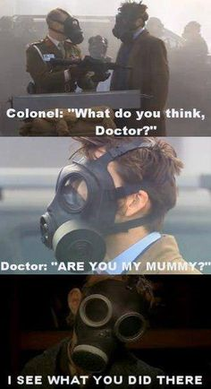 XD Funny thing is I'm just now getting into doctor Who and must I say I LOVE IT And I just watched that episode. Nancy and Jamie!!