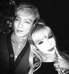 TOP oppa and Park Bom unnie