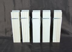 Clothes Pins 6 inch Unfinished Wooden by weddingbridaldecor