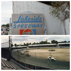Lakeside Speedway, Denver, Colorado I loved going to the races with my dad!