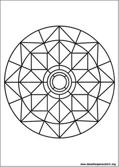 Simple Free Mandalas 03 Coloring Pages Printable And Book To Print For Find More Online Kids Adults Of