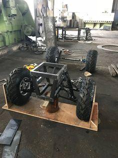 Handmade Offroad Buggy (UTV): 9 Steps (with Pictures) Offroad, Go Kart Kits, Go Kart Frame, Off Road Parts, Bike Challenge, Atv Car, Manufacturing Engineering, Senior Student, Diy Go Kart