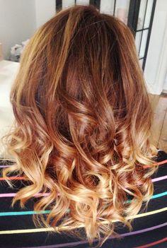 Ombre hair color Ombre Hair Color, Hair Colors, New Hair Do, Bang Bang, Cut And Color, Color Inspiration, Style Ideas, Locks, Bangs