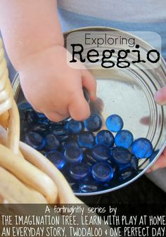 Learn with Play at home: Exploring Reggio