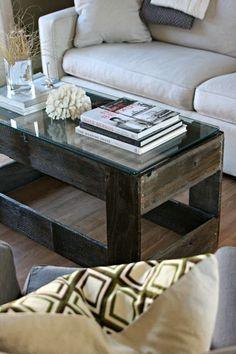 Rustic Coffee table from an old gate.