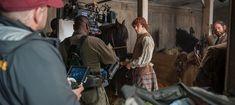 'Outlander' detrás de las cámaras