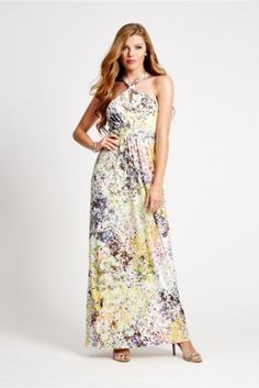 Winona Printed Maxi Dress | GUESS.com
