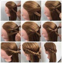 Blonde Hair Hair Mannequin Heads Blonde Peruukki Head Hairdressing Malli Hairstyle Training Head Ilmainen toimitus - April 21 2019 at Little Girl Hairstyles, Braided Hairstyles, Short Hairstyles, Pretty Hairstyles, Teenage Hairstyles, Long Haircuts, Elvish Hairstyles, Toddler Hairstyles, Hairstyles Videos