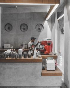 Small Coffee Shop, Best Coffee Shop, Coffee Store, Coffee Bar Design, Coffee Shop Interior Design, Office Interior Design, Cafe Shop Design, Retail Store Design, Industrial Cafe