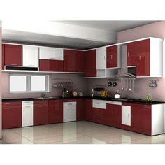 A Modular Kitchen Dealer Can Provide A Top Quality Kitchen Mahalaxmi Kitchen World offers services a Kitchen Room Design, Kitchen Layout, Interior Design Kitchen, Home Design, Kitchen Decor, Kitchen Designs, Kitchen Pantry, Kitchen Wardrobe Design, Kitchen Shop