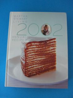 Martha Stewart Living 2002 Annual Recipes Book HC
