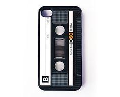 iPhone 4 Case  Retro Audio Cassette Tape par caseosaurus sur Etsy, $16,99