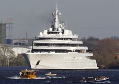 $1.9 BILLION: The Eclipse yacht is the second largest yacht in the world and is owned by Russian billionaire Roman Abramovich. The yacht comes with two helicopter pads, 24 guest cabins, a disco hall, two swimming pools, and several hot tubs.