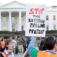 Hundreds Plan to Risk Arrest in Keystone Pipeline Action This weekend could turn out to be the largest act of civil disobedience at the White House in a generation.