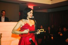 @Jenn L Gasoi performing a song from her Grammy winning album: ''throw a penny in the wishing well'' 2014 @Plateauloungemtl