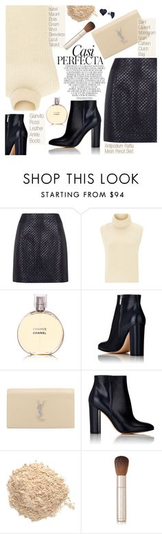 """""""Girl's Night Out, Beauty Edition"""" by pokadoll ❤ liked on Polyvore featuring mode, Antipodium, Étoile Isabel Marant, Chanel, Gianvito Rossi, Whiteley, Yves Saint Laurent, Le Métier de Beauté, By Terry et BillyTheTree"""